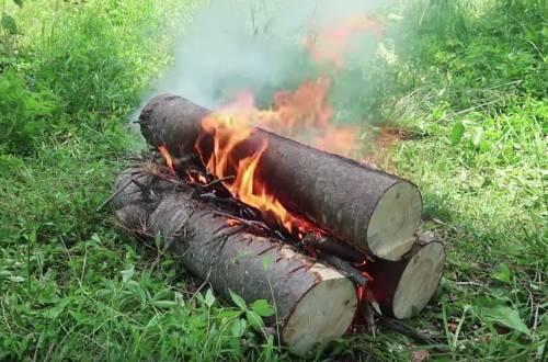 All-night campfire