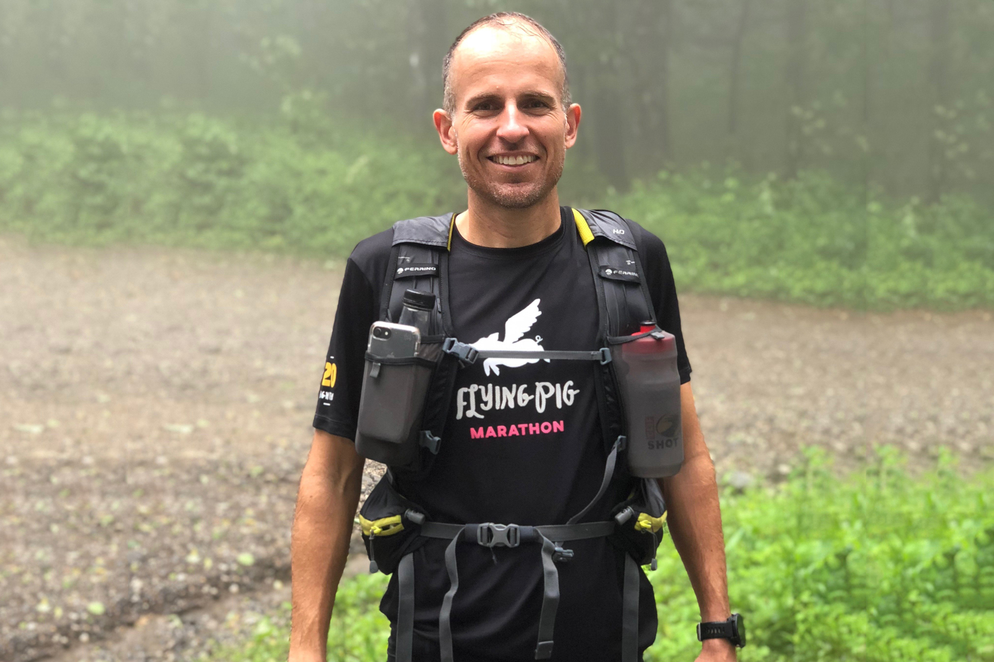 Harvey Lewis ultra-runner gear