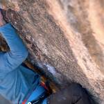 Alex Honnold crimp