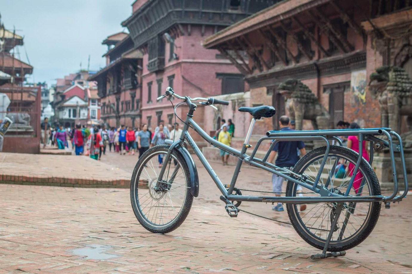 Coming to US: This Nepali Bike Carries 300 Pounds of Cargo