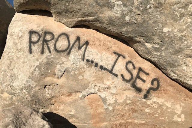 Prom invite vandalizes Colorado National Monument