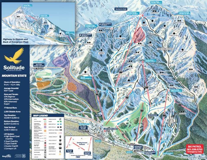 Solitude Mountain Resort Map Alterra