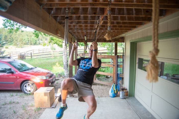 DIY Spartan Obstacle Course Training at home