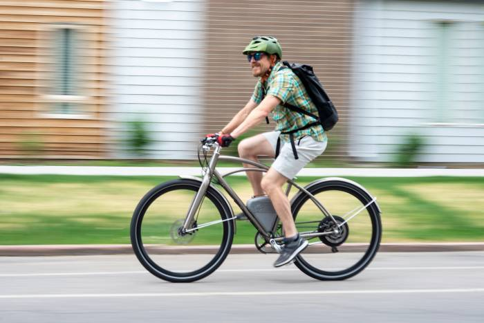 Commuting by e-bike