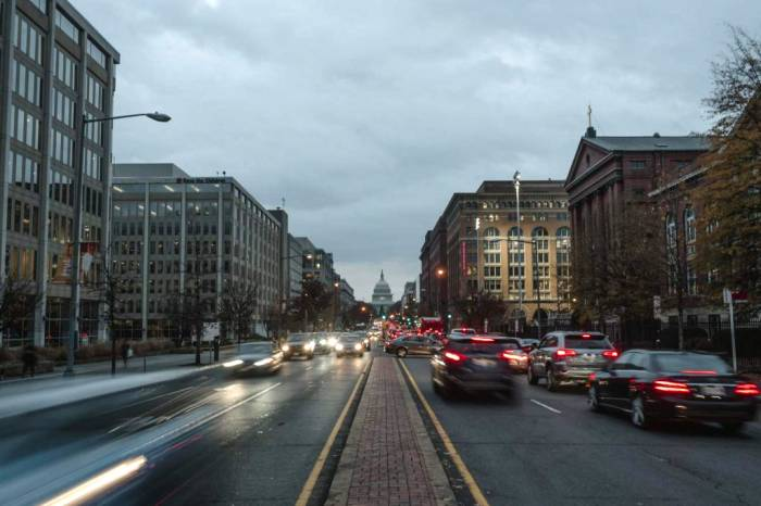 Washington D.C. traffic