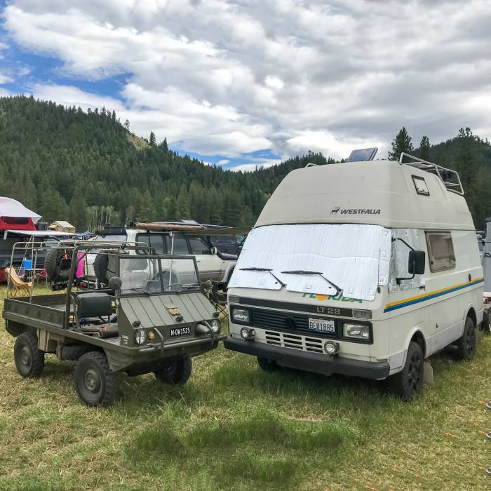 Brawny Beauties Wild Rides From Northwest Overland Rally