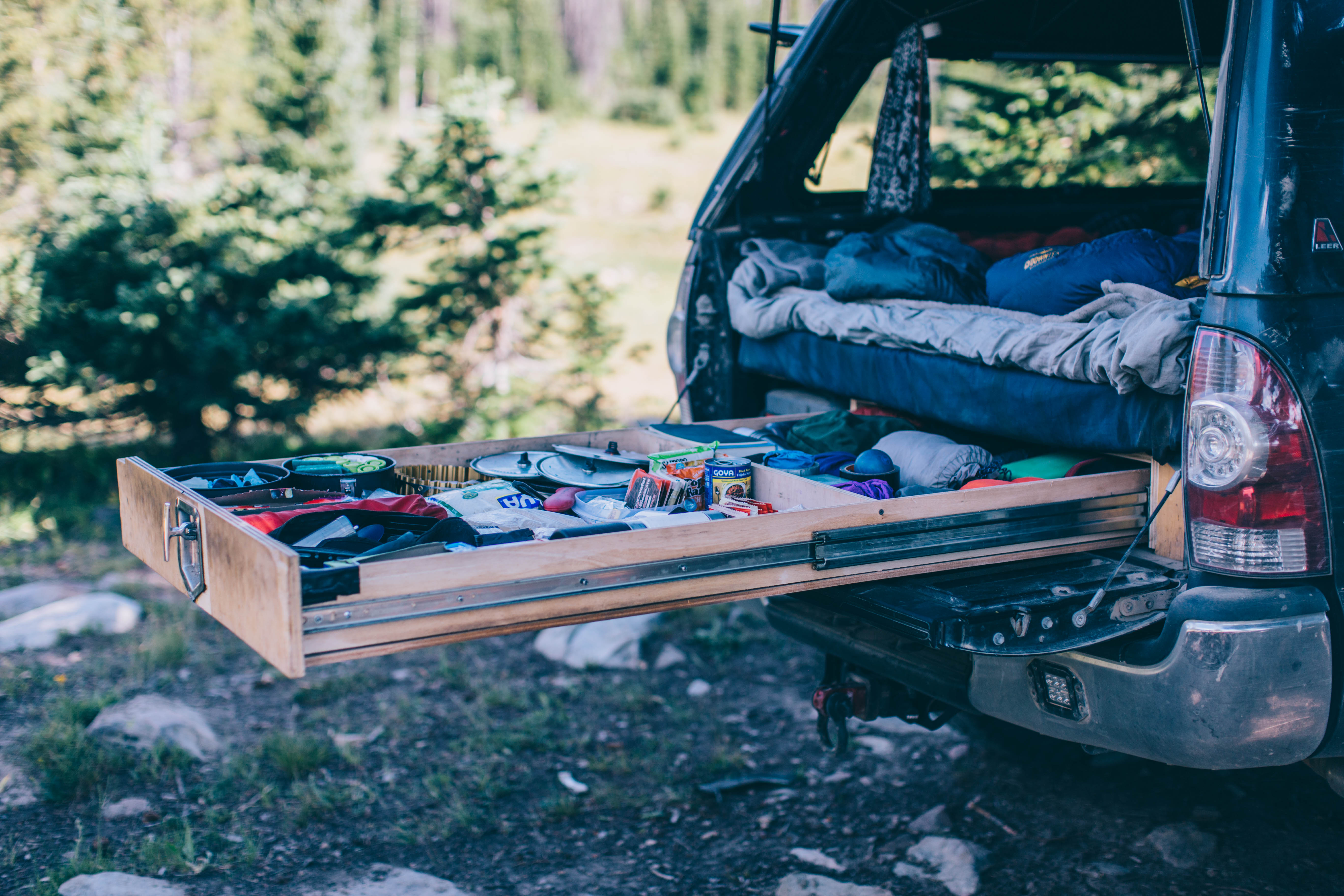 Truck Drawer System: How I Built Out My Pickup Bed