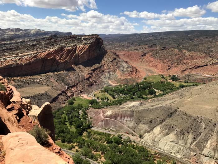 view from Rim Overlook