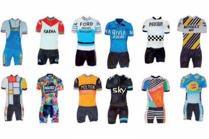 History of cycling jerseys