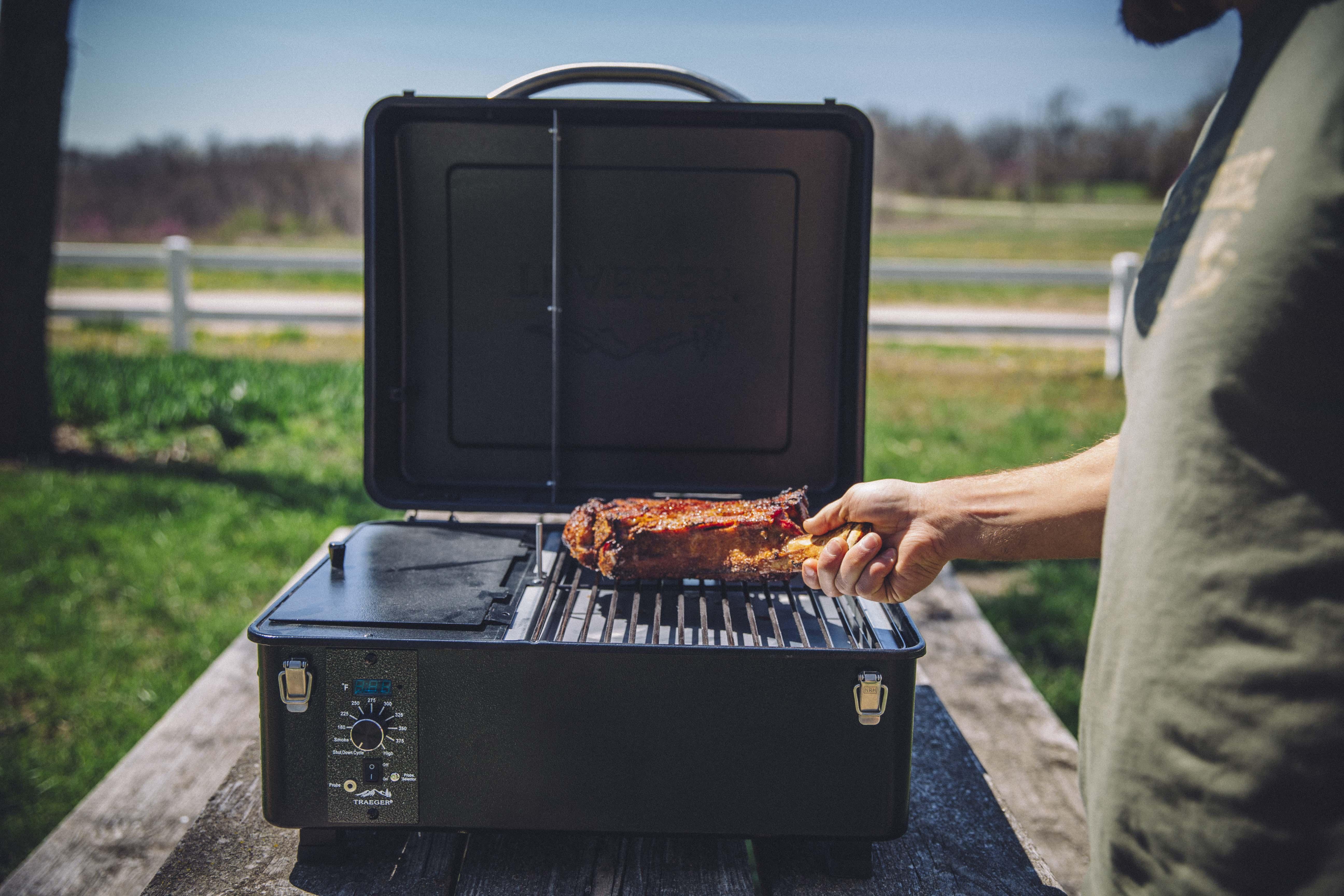 Traeger Goes Portable: Meet the Ranger Wood Pellet Grill ...
