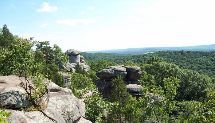 Indian Point, Garden of the Gods Wilderness