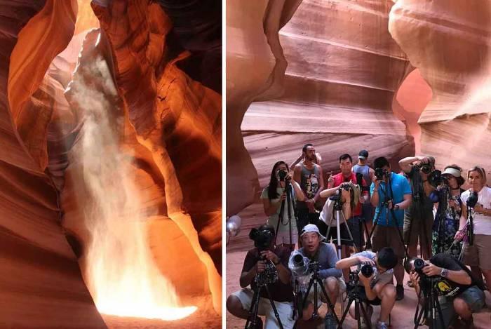 antelope canyon reality