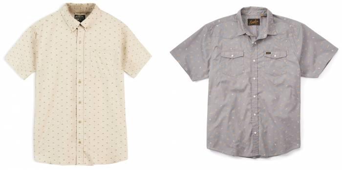 Huckberry Short Sleeve Shirt