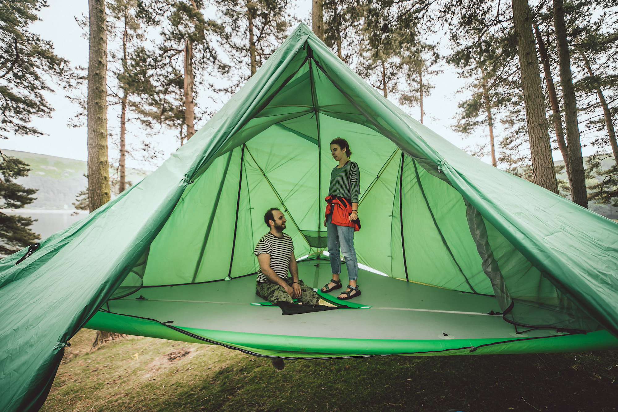 all terrain tent pitches on land sea and air gearjunkie