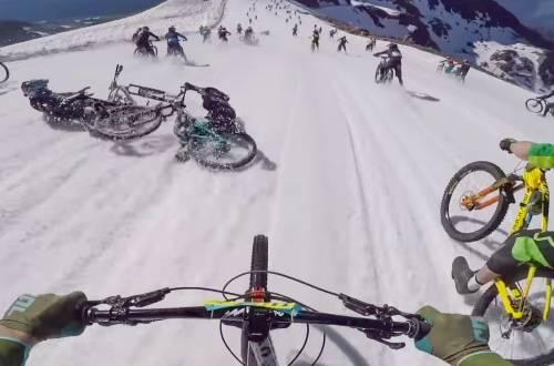 mountain bike megavalanche