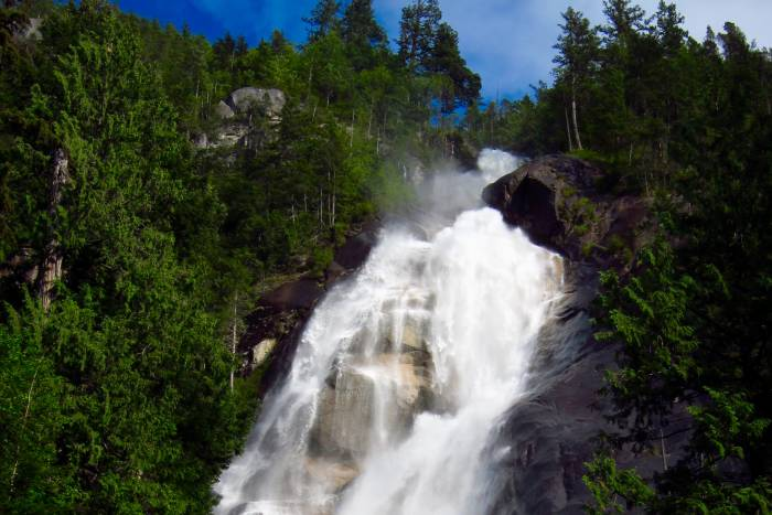 shannon falls feature