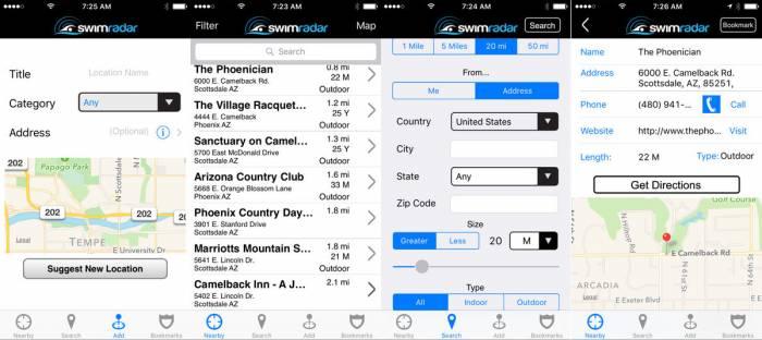 Swim Radar App