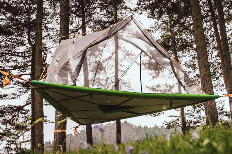 b4294c028 All-Terrain Tent' Pitches on Land, Sea, and Air | GearJunkie