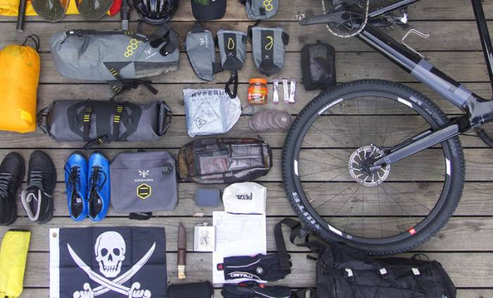 Bikepacking kit