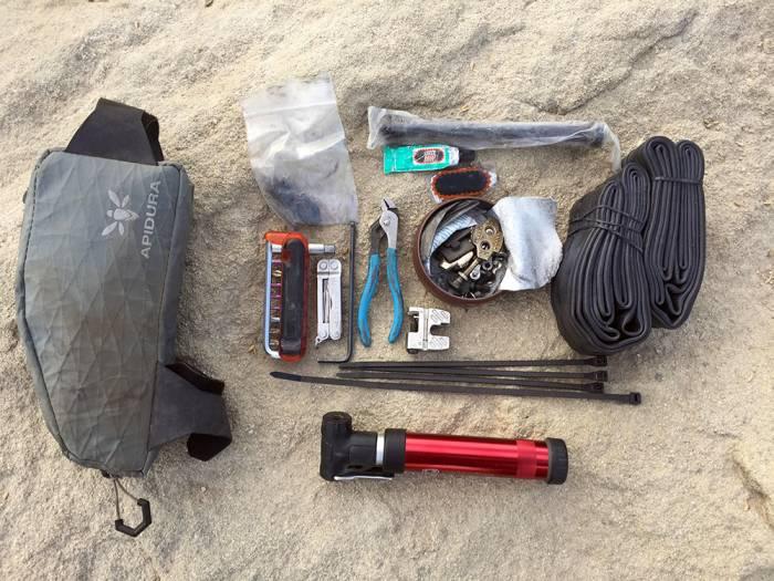 Bikepacking tools and hacks
