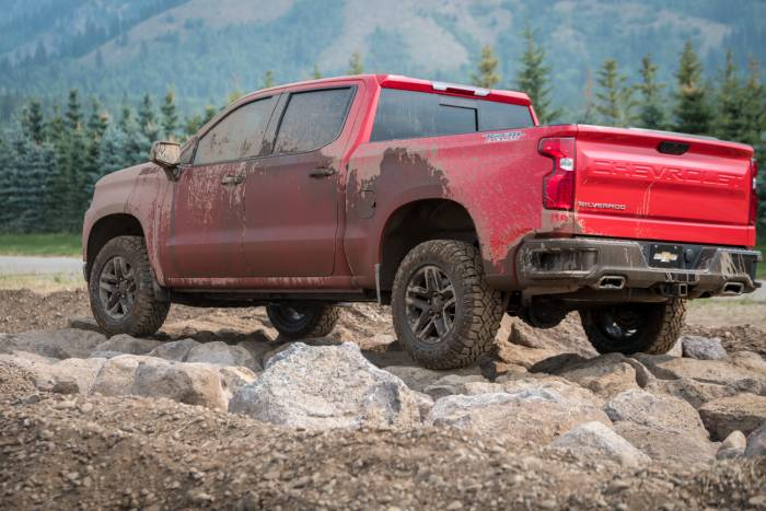First Drive 2019 Chevrolet Silverado 1500 Trail Boss