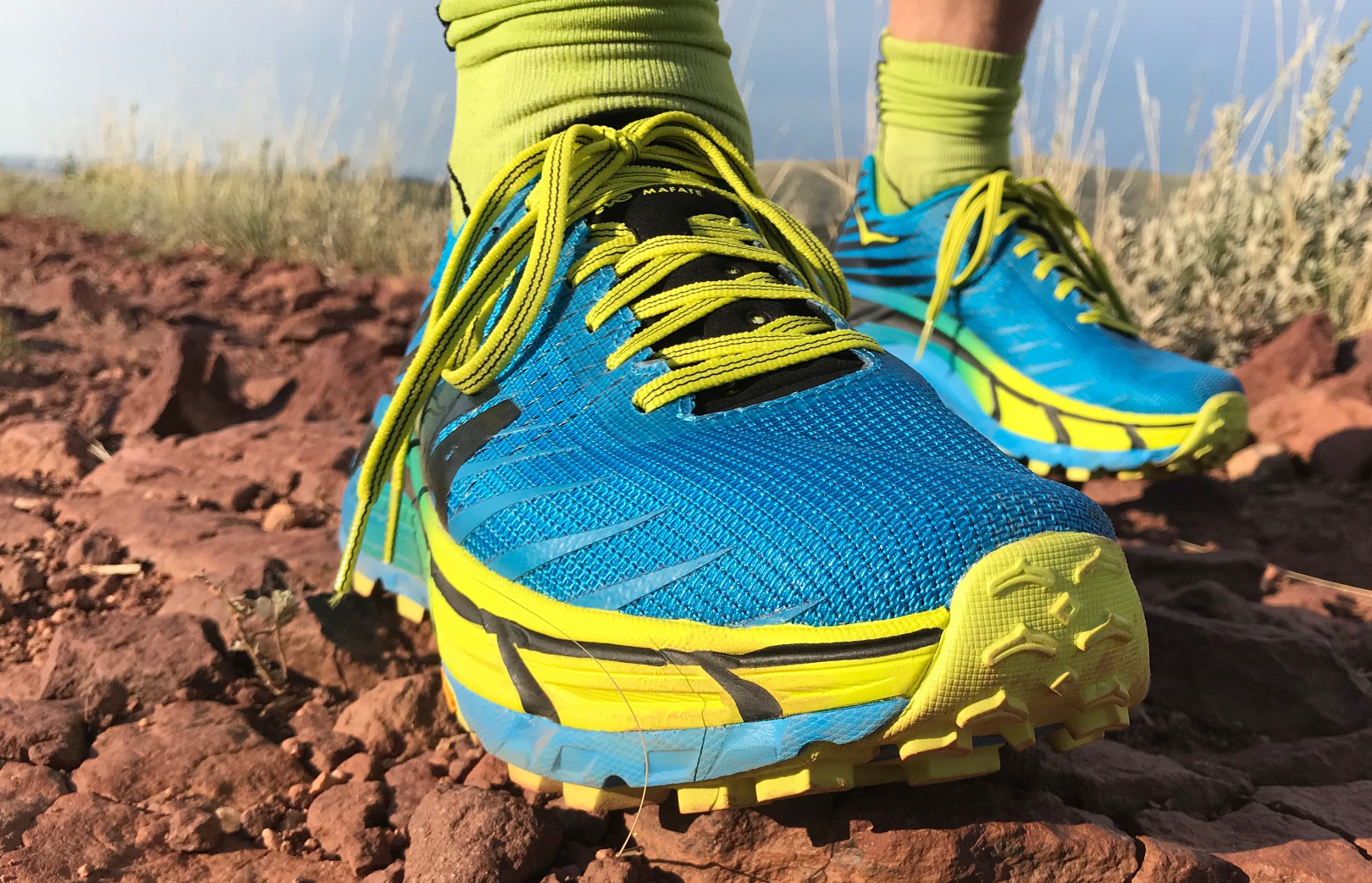 newest 5c51c 3651f Fast, Protective, Aggressive: HOKA ONE ONE EVO Mafate Review ...