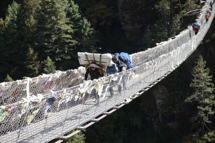 Nepal trekking rescue
