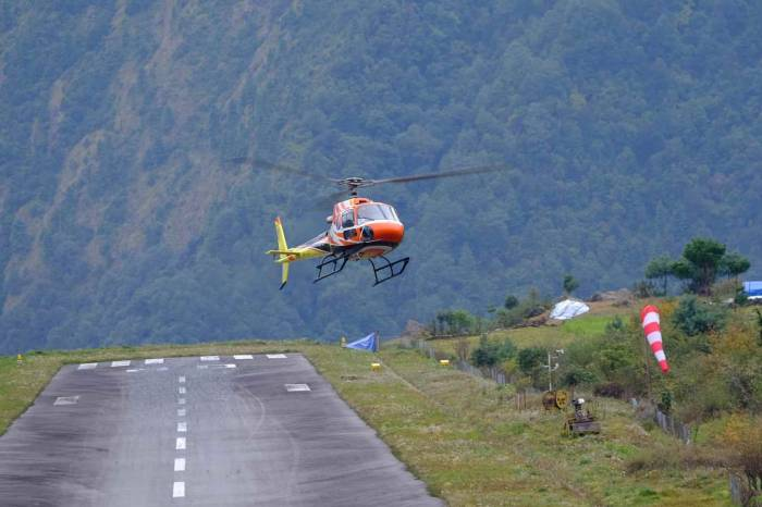 Nepal fake rescue helicopter scam