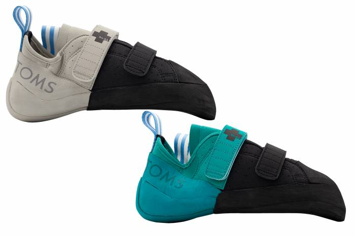 TOMS x So iLL climbing shoes
