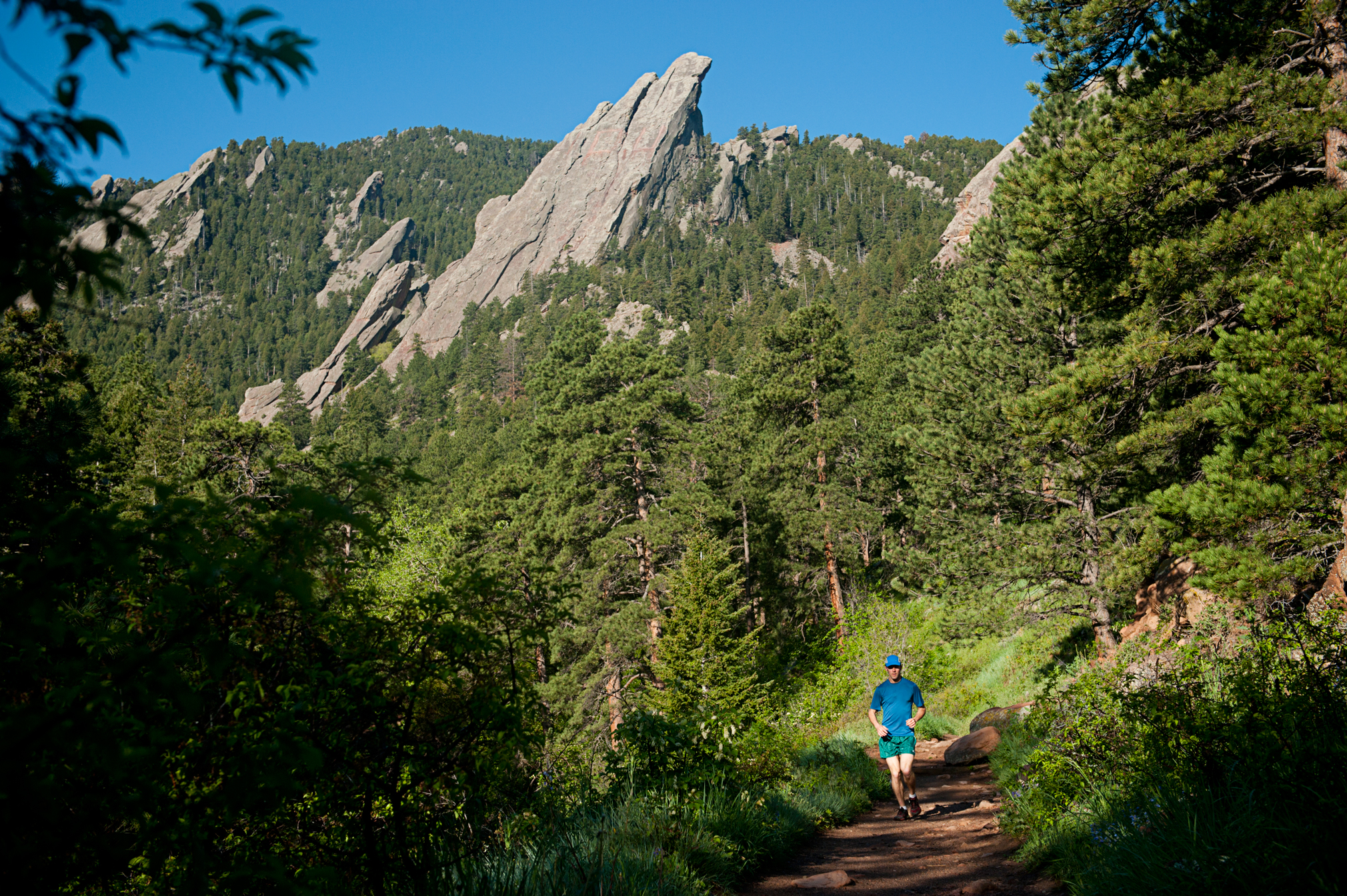 running shoes in boulder
