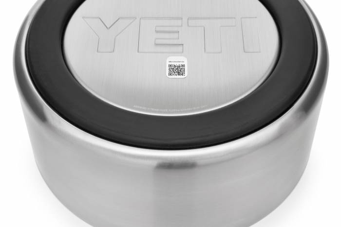YETI Boomer dog bowl non-slip bottom