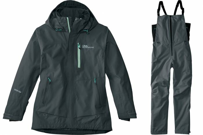 Cabela's Guidewear angler parka and bibs