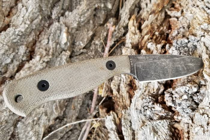 ESEE Camp-Lore JG3 fixed-blade bushcraft knife