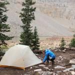 zipping up a tent big agnes tiger wall ul2 tent