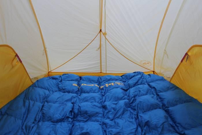 big agnes sentinel 30 double sleeping bag
