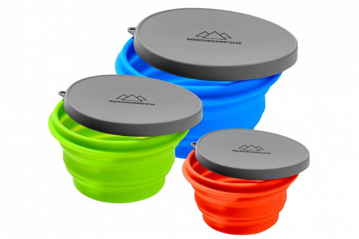Mountain Summit Gear Collapsible Bowls