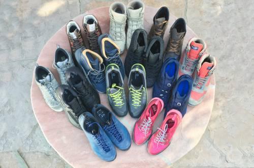 Non-GTX hiking boots