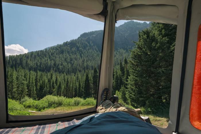 Go Fast Campers Platform Tent