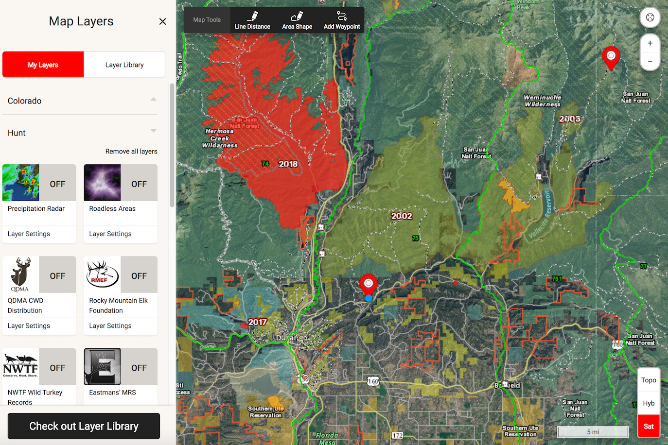 Wildfire Safety Mapping Apps Help Monitor Track Fallout - Onx map app