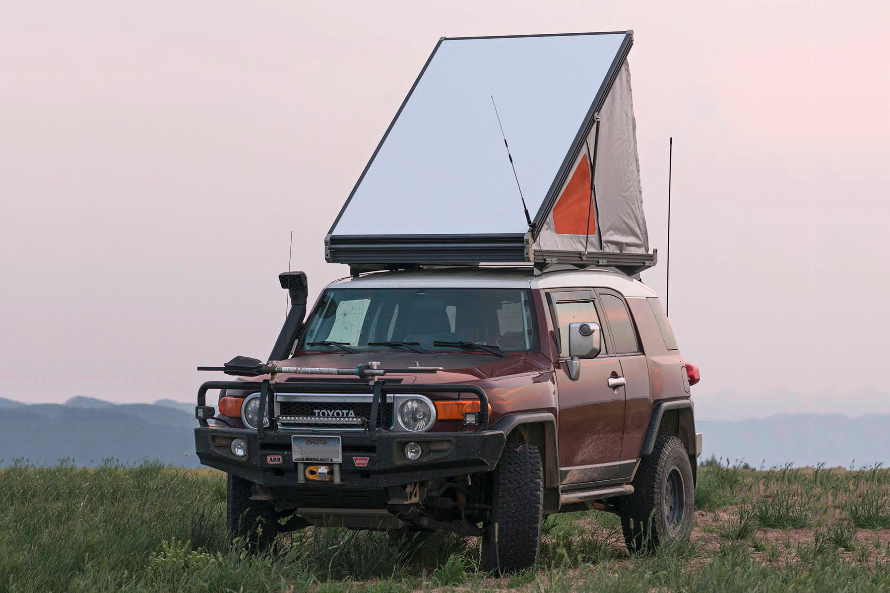 Thinnest Rooftop Tent Go Fast Campers Platform Gets