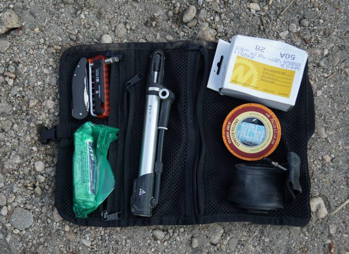 Bikepacking tool kit