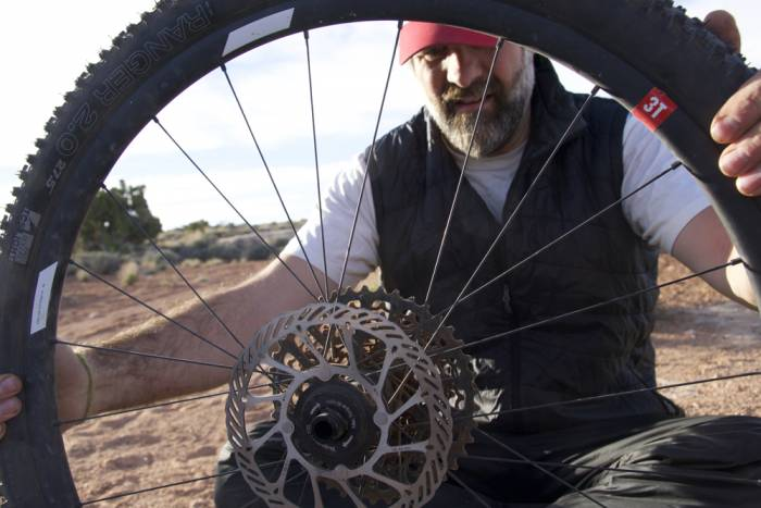 Bikepacking tire repair