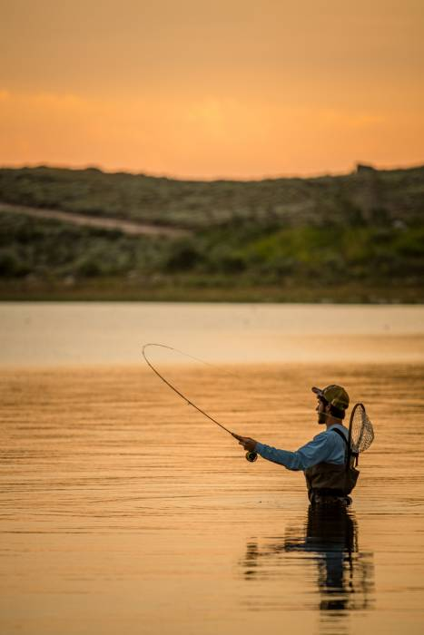 Fly fishing photography tips
