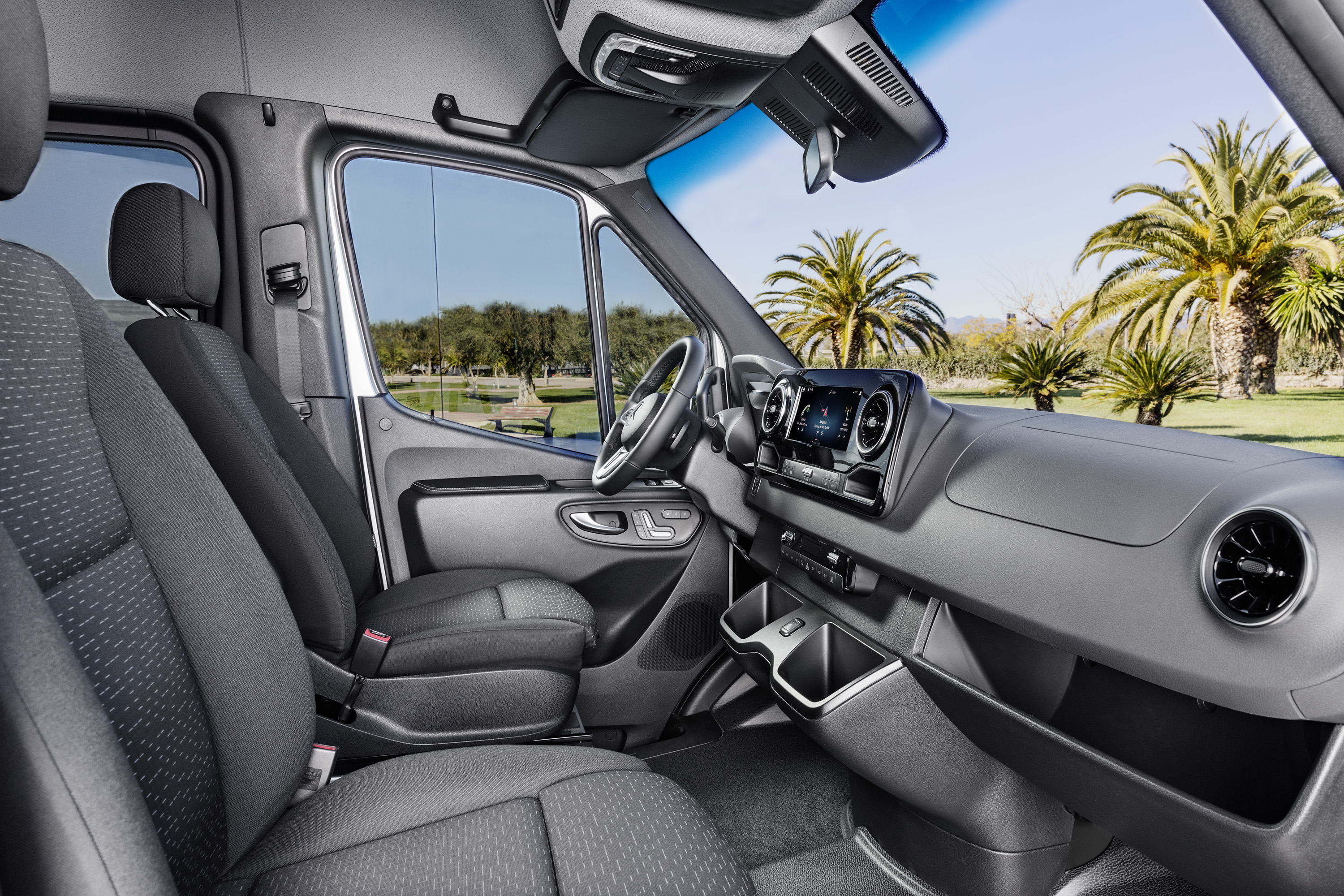 Mercedes Benz Sprinter U2013 Interior