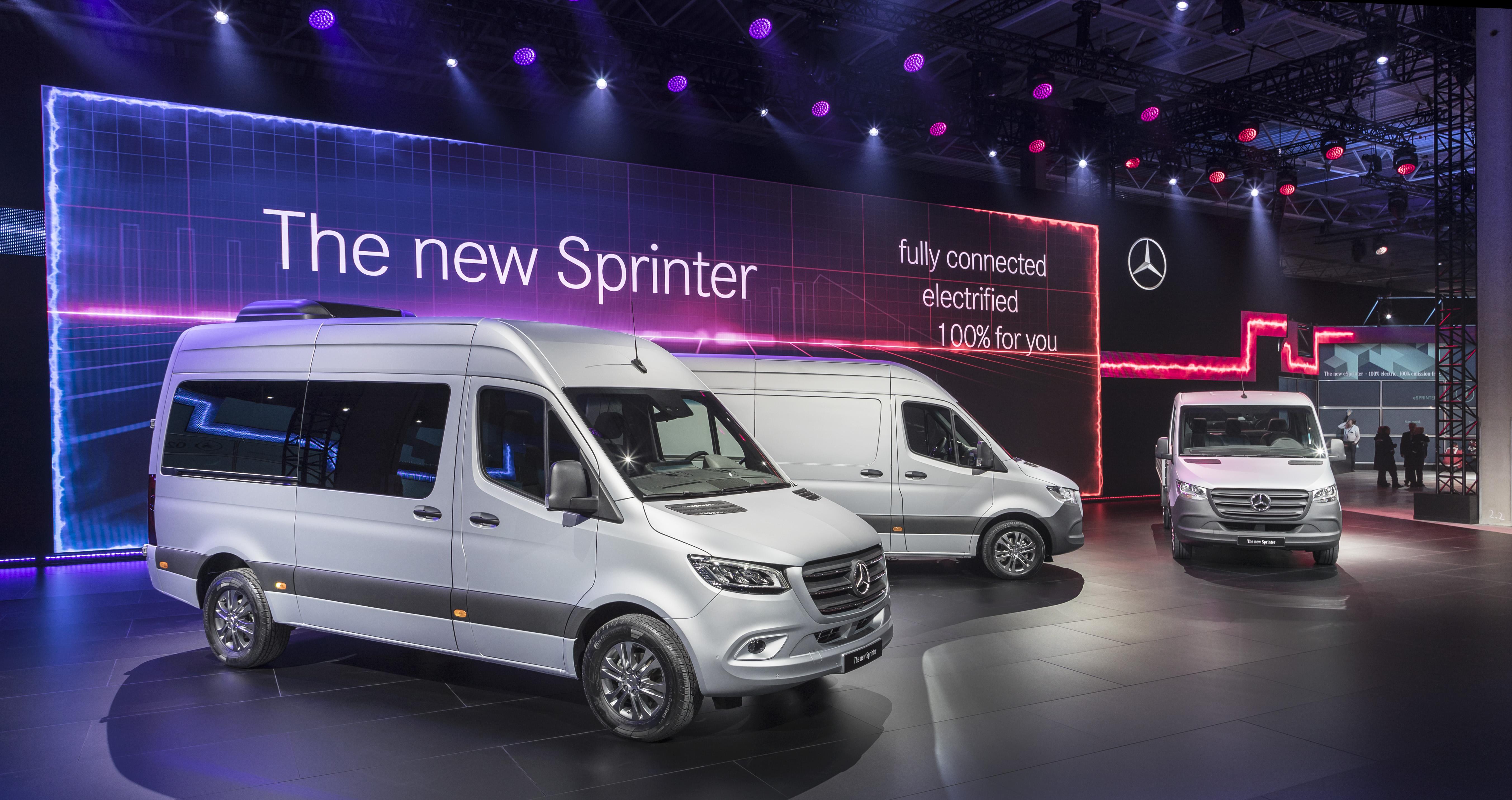 Van Life Icon Mercedes-Benz Sprinter Now Made in America