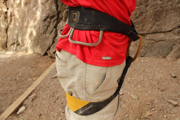 Black Diamond Zone climbing harness