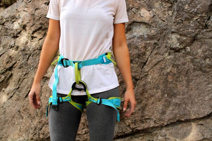 Edelrid women's climbing harness