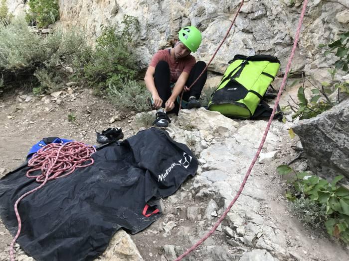 basic sport climbing gear