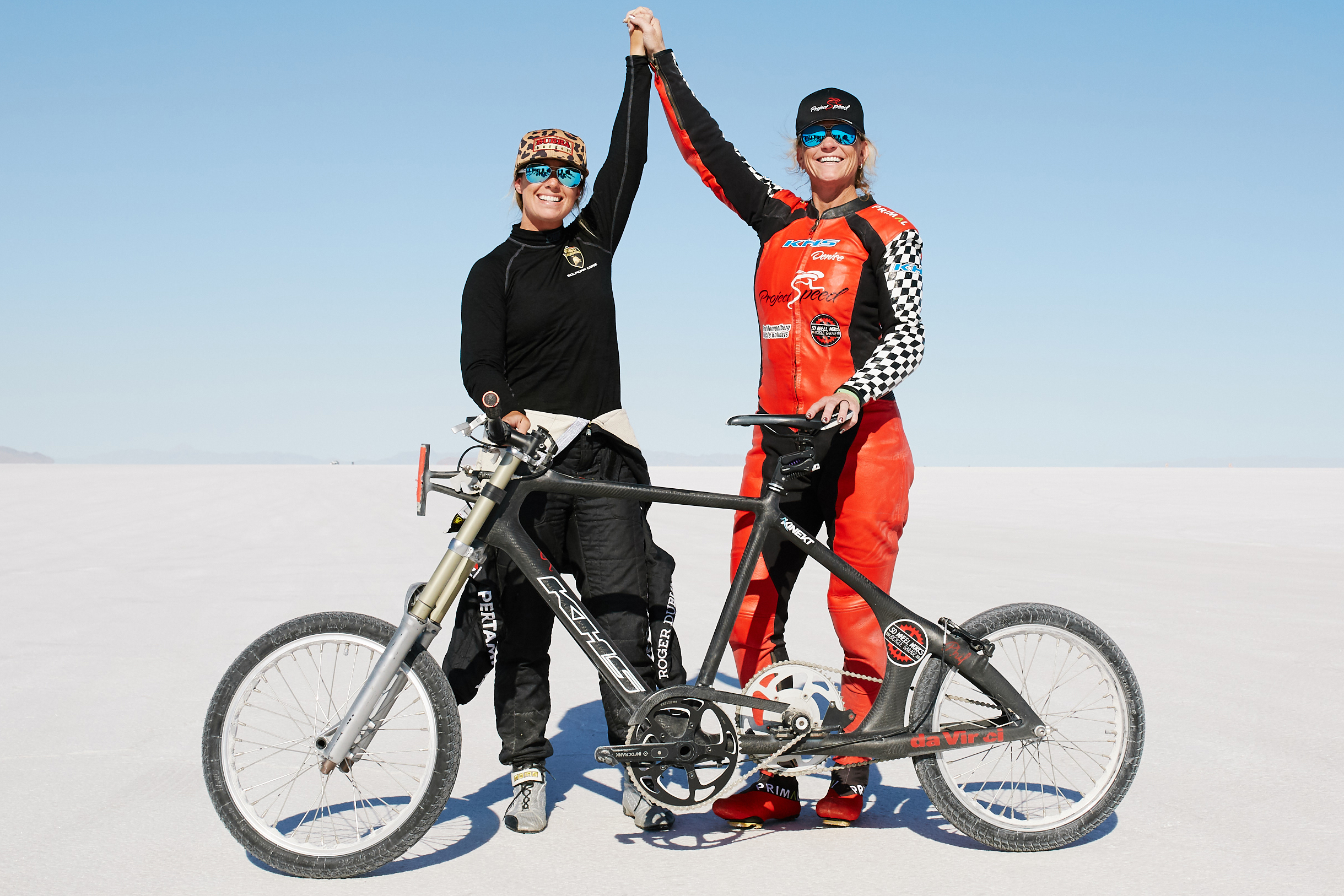 184 MPH on a Bicycle! Woman Sets New Speed Record