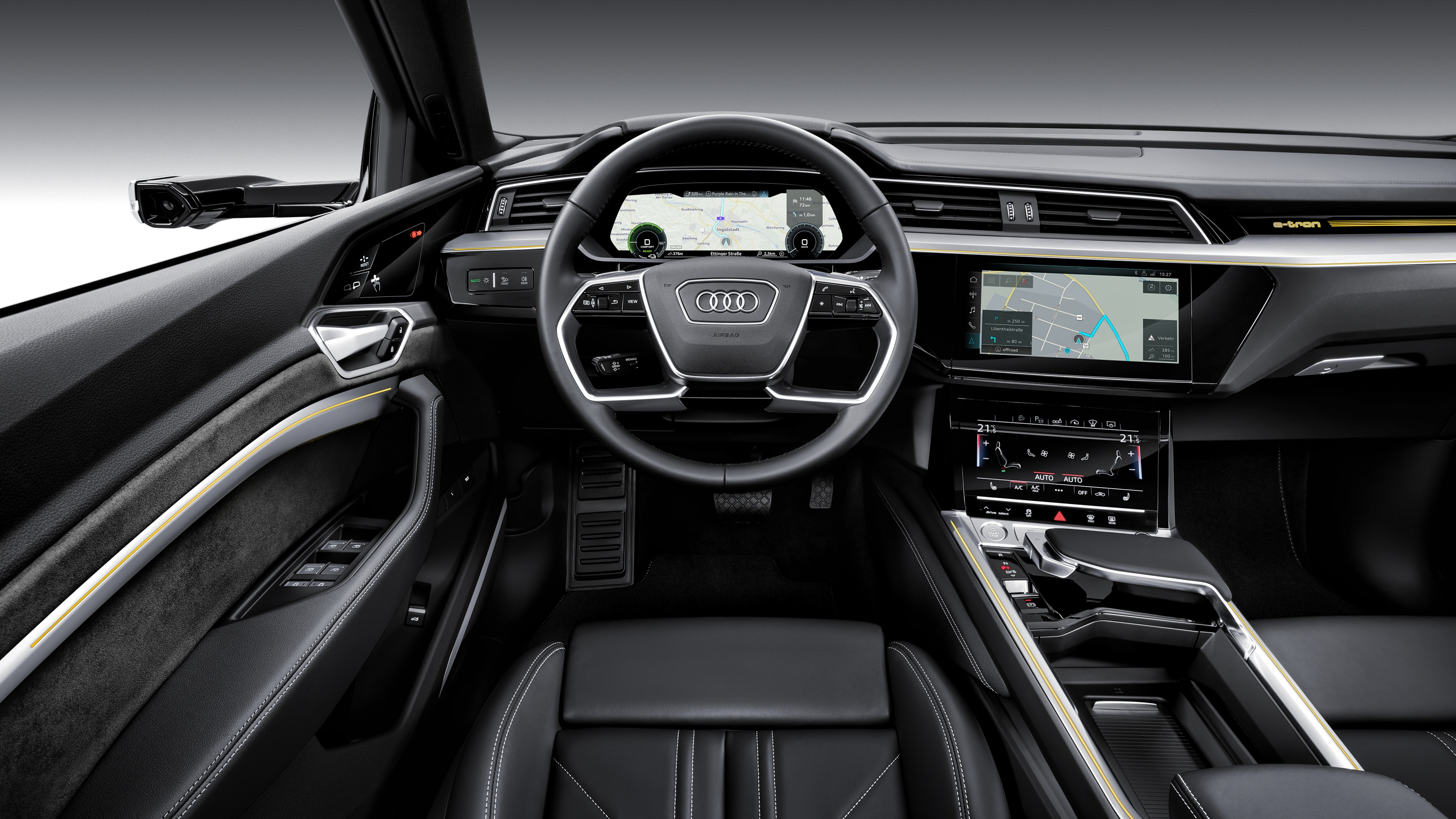 Audi Finally Goes All Electric With The E Tron Suv Gearjunkie